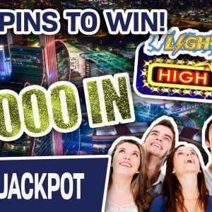 🎉 $5,000 IN for Group Pull on Lightning Link: High Stakes = HANDPAY ⚡ 100 SPINS TO WIN