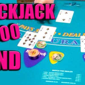 $1,000/BET on Blackjack at Hard Rock! #SHORTS
