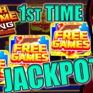 1st JACKPOT EVER on NEW Cash XTREME RISING Game!