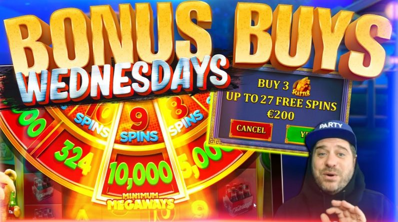 BONUS BUY WEDNESDAYS FEAT. VIEWERS! Episode #9 | Best Bonus Buy Slots