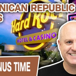 🌞 DOMINICAN REPUBLIC SLOTS! 🎰 Count Me IN @ Hard Rock Punta Cana!