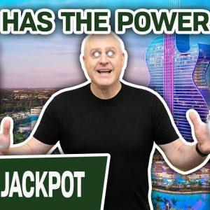 🎱 POWERBALL = POWERFUL Jackpot 🧙♂ RAJA HAS THE POWER at Hard Rock in Hollywood, Florida