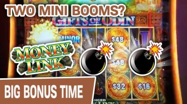 ✌ TWO Mini Booms? 💣 💣 Money Link: Gifts of Odin WON'T STOP PAYING ME