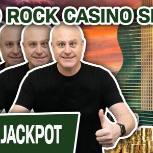 🤘 Hard Rock Casino SLOTS! 👀 Watch Me Get a JACKPOT