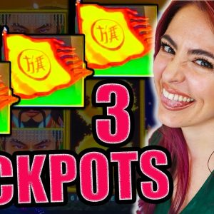 FINALE of GREATEST COMEBACK EVER! 3 HANDPAY JACKPOTS on Golden Century!