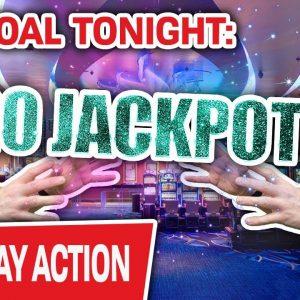 🔴 ONLY Live High-Limit Slots! 🥅 My Goal Tonight: 20 JACKPOT HANDPAYS