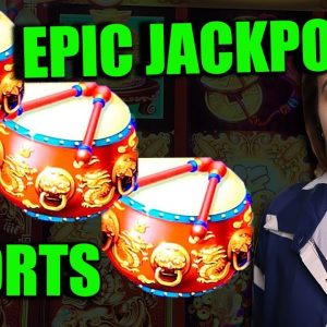 MY BIGGEST JACKPOT ON DANCING DRUMS #SHORTS