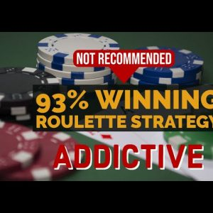 Not Recommended: 93% Winning Roulette Strategy | WIN 6K IN 5 MIN