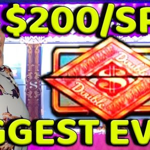 OMG!! MY BIGGEST JACKPOT HANDPAY EVER on Double Top Dollar!