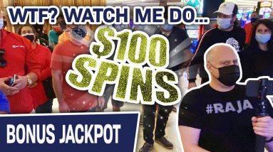 🎡 $100 SPINS! WHEEL. OF. FORTUNE. = JACKPOT. JACKPOT. JACKPOT. 🤩 $8,500 in TOTAL SLOT WINNINGS