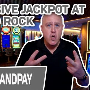 🍻 MASSIVE SLOT JACKPOT at HARD ROCK CASINO 🏆 The Big Jackpot is the BEST!