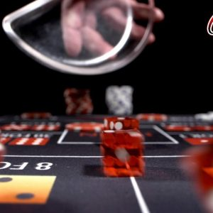The Game of Casino Craps 🎲 Dice | Cinematic Craps B Roll