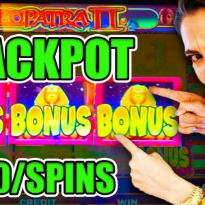 THIS COMEBACK IS LEGENDARY!! MASSIVE JACKPOT on Cleo 2!