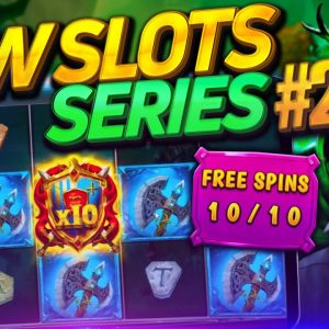 SLOT BONUSES & BIG WINS! Feat The Green Knight, Bompers And MORE! - New Online Slots#2