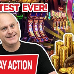 🔴 The Greatest Slot Player EVER Is LIVE RIGHT NOW 🤩 Watch Him win, Win, WIN!