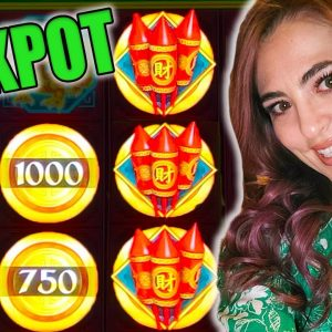 1st EVER JACKPOT HANDPAY on Epic Fortunes in Las Vegas!