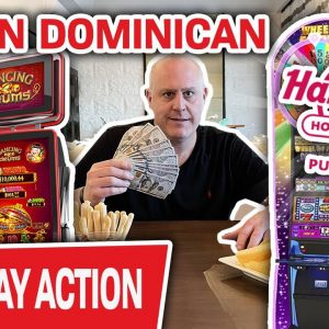 🔴 LIVE JACKPOTS IN PUNTA CANA! 🥥 We Are BACK for More High-Limit Dominican Slot Machines