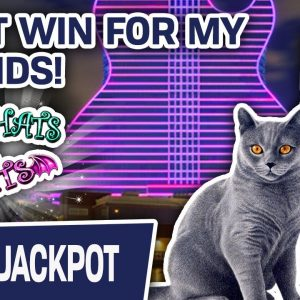 🦸‍♂‍ GIANT WIN Playing Super Lock at Hard Rock in Florida! 😁 THIS Is Why We Play SLOTS