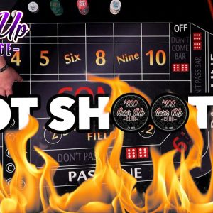 Hot Dice Shooter - Color Up Craps Challenge