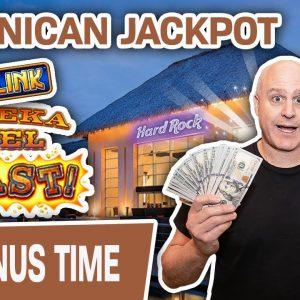 🔓 Lock It Link JACKPOT in Dominican Republic! ⛱ Thank You, Hard Rock Casino