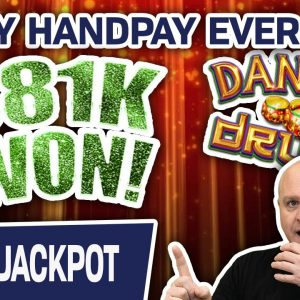 😲 MUST SEE: Every DANCING DRUMS Handpay I've EVER HIT! 🥁 $81,000+ In High-Limit SLOT WINNINGS