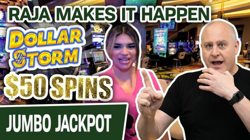 💸 $50 PER SPIN on Dollar Storm? 👑 Only RAJA Can Make It Happen for a JACKPOT