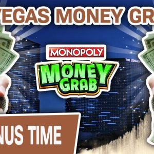 🤑 High-Limit Money Grab on the LAS VEGAS STRIP 💸 How Much Money Can We Grab at Cosmo?