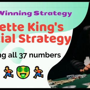 Roulette King's Special Strategy | Cover 37 numbers | 100% winning strategy