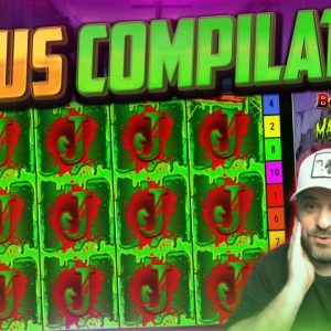 SLOTS BONUS COMPILATION - Pop, Book Of Madness And MORE!