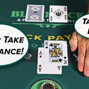 The Truth About Insurance and Even Money In Blackjack