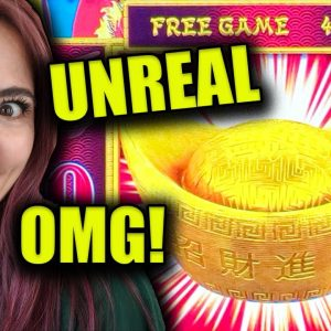 3 UNREAL JACKPOTS TRIGGERED on SPRING FESTIVAL DRAGON LINK GAME in VEGAS!