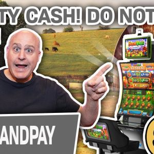 👨🌾 FARMVILLE Handpay! 👀 You Do NOT Want to Miss This MASSIVE Mighty Cash Jackpot