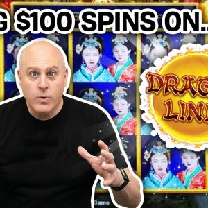 💯 $100 SLOT MACHINE SPINS in VEGAS 💸 Who Else Puts That Much Into Dragon Link? NOBODY!