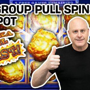 👨👨👧 200 Group Pull Spins = JACKPOT! 🔗 Lock It Link: Eureka Reel Blast at Hard Rock Casino