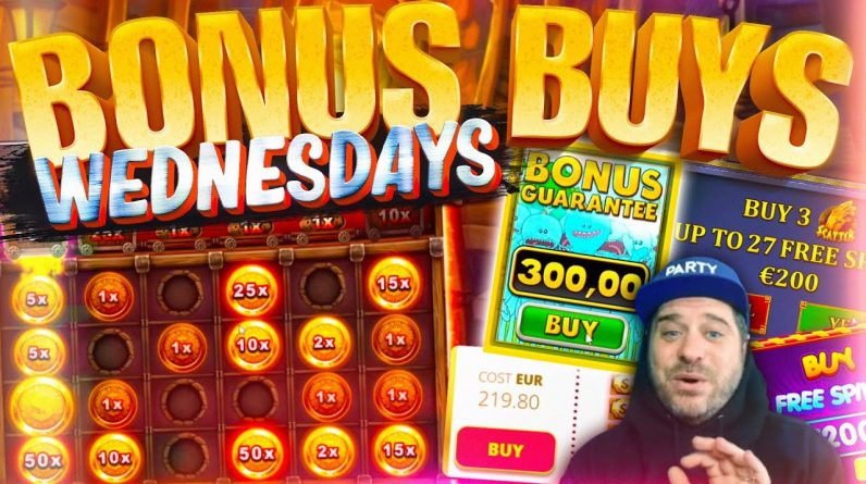 BONUS BUY WEDNESDAY! 49 Online Slot Bonuses!