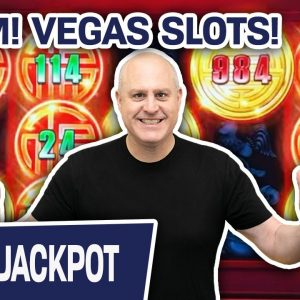 💣 BOOM! Jackpot Playing LAS VEGAS SLOTS 🔼 Rising Fortune PAYS ME WELL