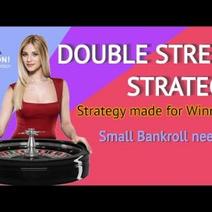Double Street Strategy for Small Bankroll || Daily assured Roulette Win