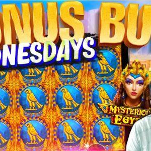 EPIC BONUS BUY WEDNESDAY! 55 Slot Bonuses!