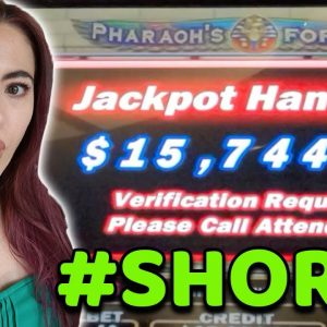 HOW I WON $15,000+ on this GAME in LAS VEGAS! #shorts