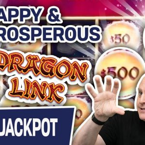 ⚠ HANDPAY ALERT: I'm Happy & I'm Prosperous 🐉 Can You Guess The Dragon Link Game?