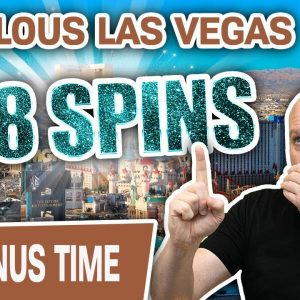 🎱 $88 Slot Machine Spins in FABULOUS LAS VEGAS 🌟 Jackpot? OH, INDEED