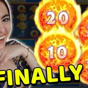 2 BONUS GAMES on Ultimate Fire Link Game at the WYNN HOTEL & CASINO in VEGAS!