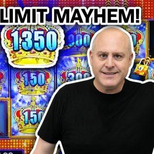 🔐 LOCK IT LINK High-Limit Slot Machine MAYHEM 🤪 LET'S GET CRAZY