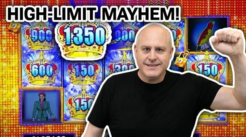 🔐 LOCK IT LINK High-Limit Slot Machine MAYHEM 🤪 LET'S GET CRAZY