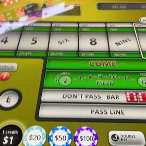 Playing Bubble Craps 🎲 waiting for ✈️
