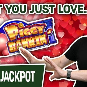 🐷 JACKPOT HANDPAY on Piggy Bankin' 🔗 You KNOW You Want to See This Lock It Link Action