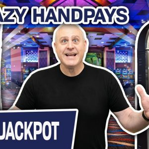🤪 2 CRAZY Games, 2 CRAZY Handpays 🍀 Lucky Leprechaun & Regal Riches FTW!