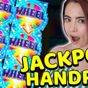 $100/SPINS on Wheel of Fortune & JACKPOT HANDPAY on Cash Wheel in Vegas!