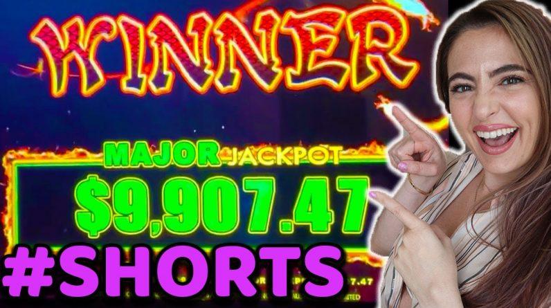 $16,000+ HANDPAY ON DRAGON LINK landed the MAJOR JACKPOT! #shorts