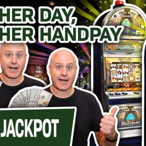 ✅ Another Day, ANOTHER HANDPAY 🔫 JACKPOT Playing Silver Dollar Shootout